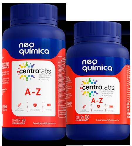 Vitaminas Neo Química Suplemento vitamínico e mineral de A-Z