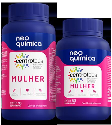 Vitaminas Neo Química Mulher Suplemento vitamínico e mineral